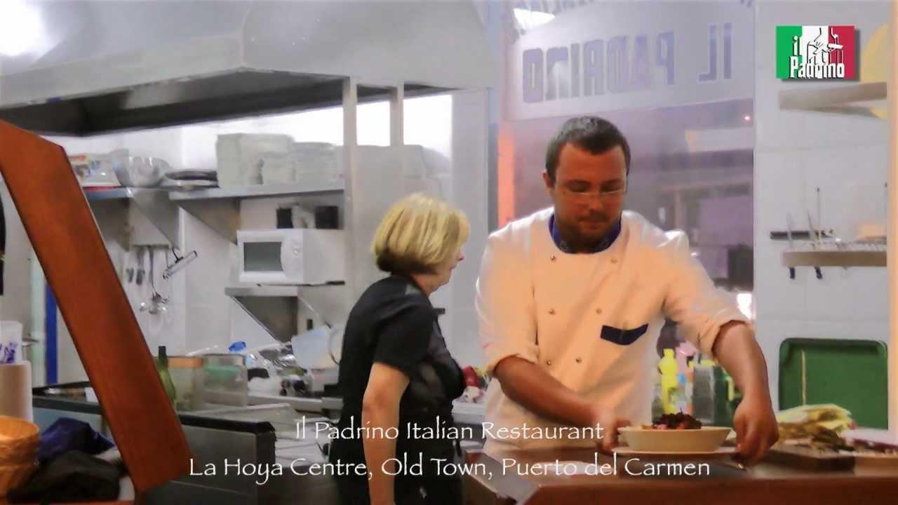 Il Padrino Italian Restaurant La Hoya Old Town Puerto Del Carmen