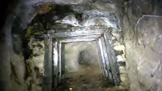 Freaky Silent Hill Tunnel / Mine Explored With Tiny Monster Pt1
