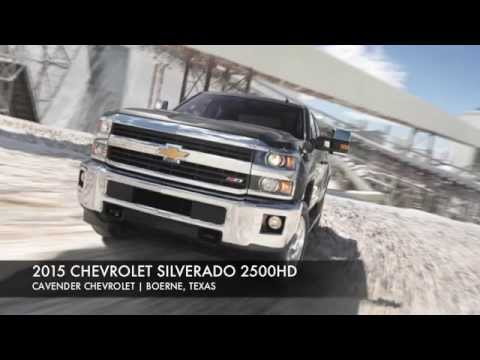 Attractive 2015 Chevrolet Silverado 2500HD San Antonio | Cavender Chevrolet Boerne, TX