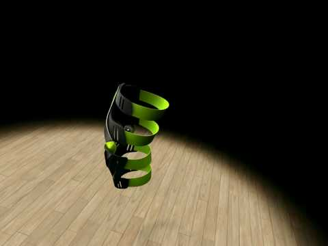 KETIV Technologies - Knee Brace in Autodesk Showcase 2009