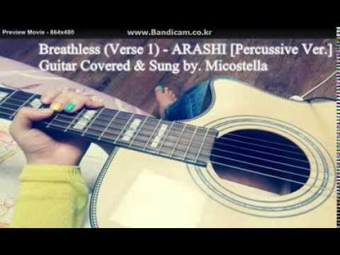 Breathless (Verse 1) - ARASHI [Percussive Ver.]