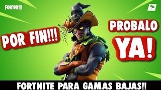 FORTNITE for LOW🔥DESCARGA NOW!!! Skin Galaxy completely Free!! (video is clickbait)