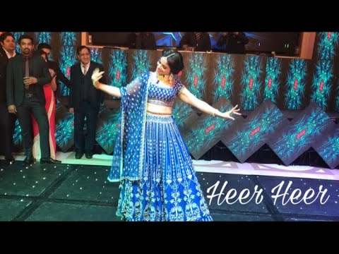 Heer Heer| Jab Tak Hai Jaan| Wedding Choreography| bride dance performance| Bolly Garage