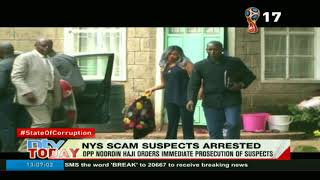 Four Ngiritia family members arrested in Naivasha over the NYS scandal