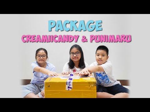 UNBOXING Package From Creamiicandy & Punimaru