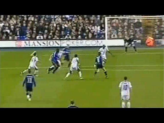 2006-2007 - Tottenham Hotspur - Club Brugge - GOAL Ibrahim Salou