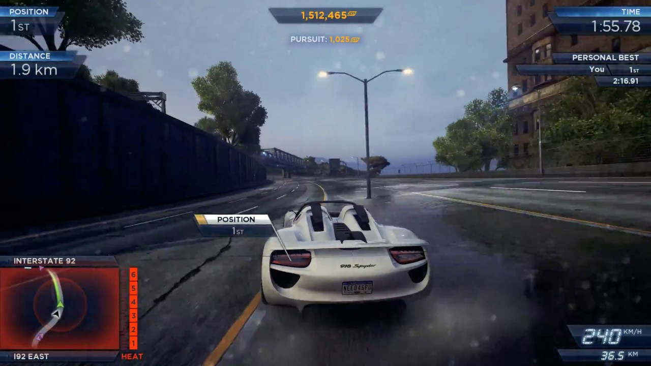 porsche 918 spyder vs pagani huayra need for speed most wanted youtube. Black Bedroom Furniture Sets. Home Design Ideas