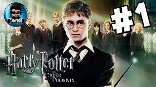 Harry Potter y la Orden del Fénix Pc Gameplay #1 HD | No Comentado | GeryGamer