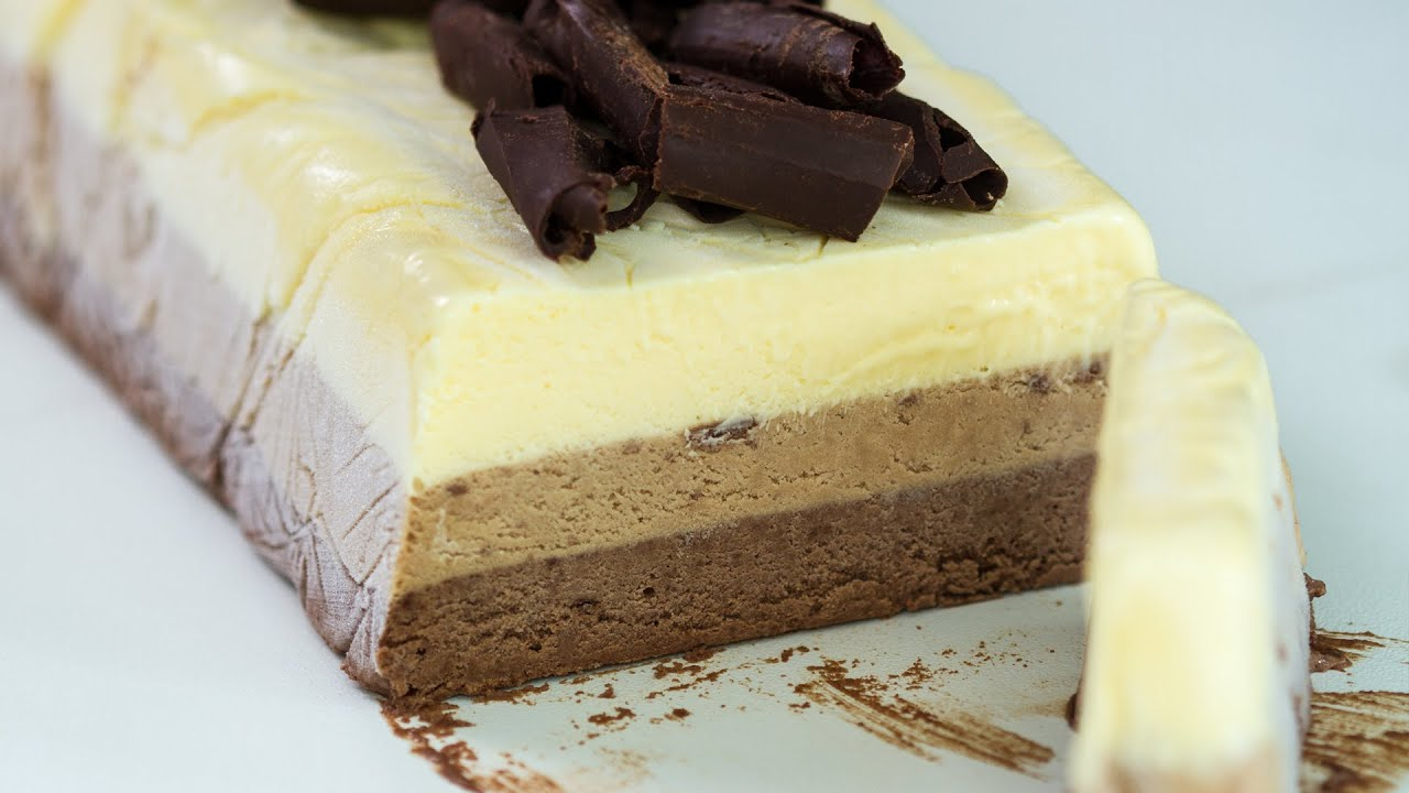Triple Chocolate Semifreddo Recipe Youtube