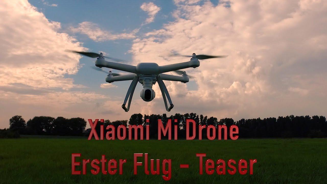 xiaomi mi drone erster flug teaser gute drohne mit. Black Bedroom Furniture Sets. Home Design Ideas