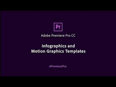 Infographics and Motion Graphic Templates in Premiere Pro CC | Adobe Creative Cloud