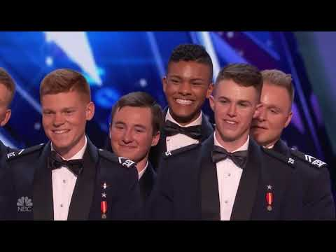 Handsome Air Force Academy Singers   Week 3   America's Got Talent 2017