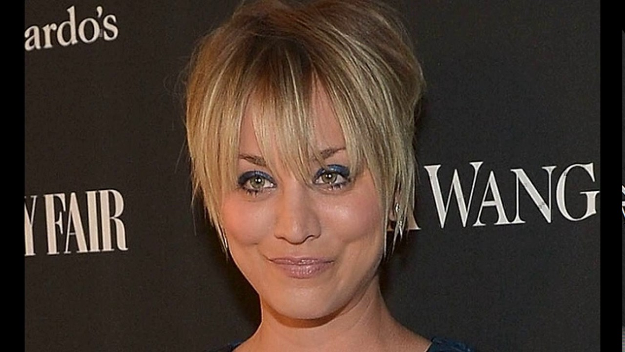 Kaley Cuoco Haircut Short Youtube