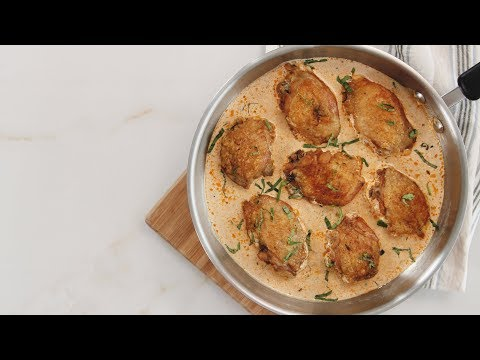 Pan-fried Chicken in Cream Sauce Recipe | Yummy Ph
