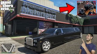 GTA 5 : Buying limousine For Uber Riding |LOGITECH G29 + SHIFTER| 😍