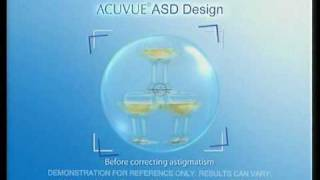 1•DAY ACUVUE Astigmatism Contact Lenses TVC (2010)