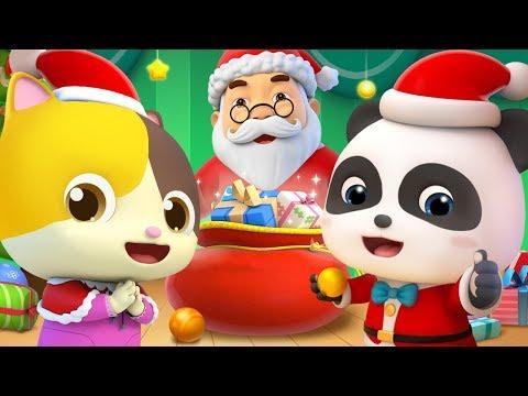 Jingle Bells, Deck the Halls | Christmas Song | Kids Songs | Nursery Rhymes | Kids Cartoon | BabyBus