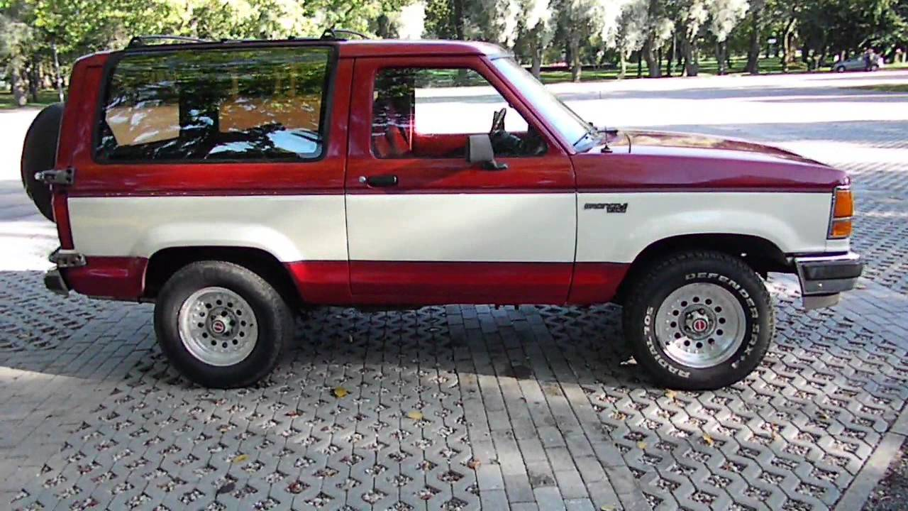 Ford Bronco 1989  YouTube