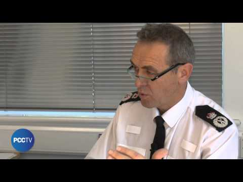PCC Tony Hogg questions Chief Constable about crime figures