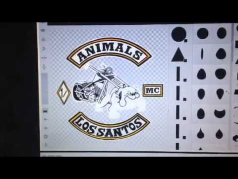 GTA V Emblem Creation - Animals MC