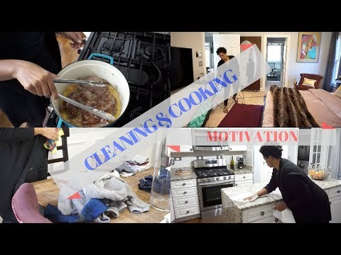CLEANING & COOKING MOTIVATION | HOW TO SLAY YOUR HOUSEWORK TO KEEP YOUR HOME TIDY