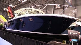 2015 Tiara 31 Motor Yacht Coronet Package - Walkaround - 2015 New York Boat Show