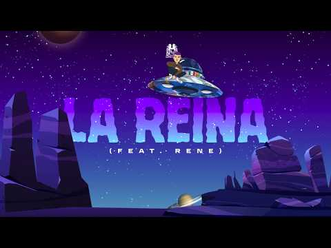 La Reina - Natanael Cano ft. Rene (Lyric Video)