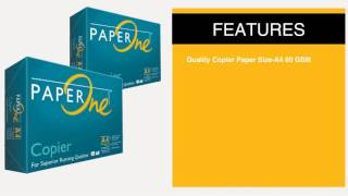 Paperone Green Copier Paper A4 80Gsm