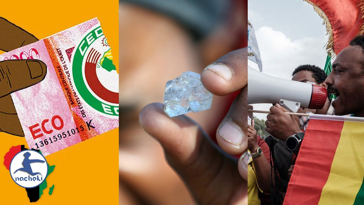Eco Currency to Replace Franc, Disappointment as SA Diamonds Turn Out as Quartz, Ethiopia Elections