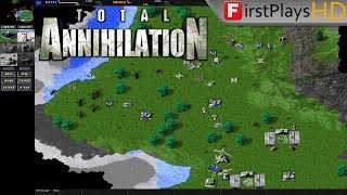 Total Annihilation (1997) - PC Gameplay / Win 10
