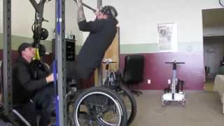 SCI Recovery Project: Fritz H. Adaptive Workout
