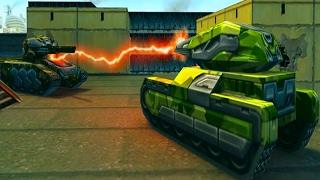 Новая МУЛЬТИК игра Танки X #4 онлайн игра как мультфильмы про танки икс онлайн видео для детей
