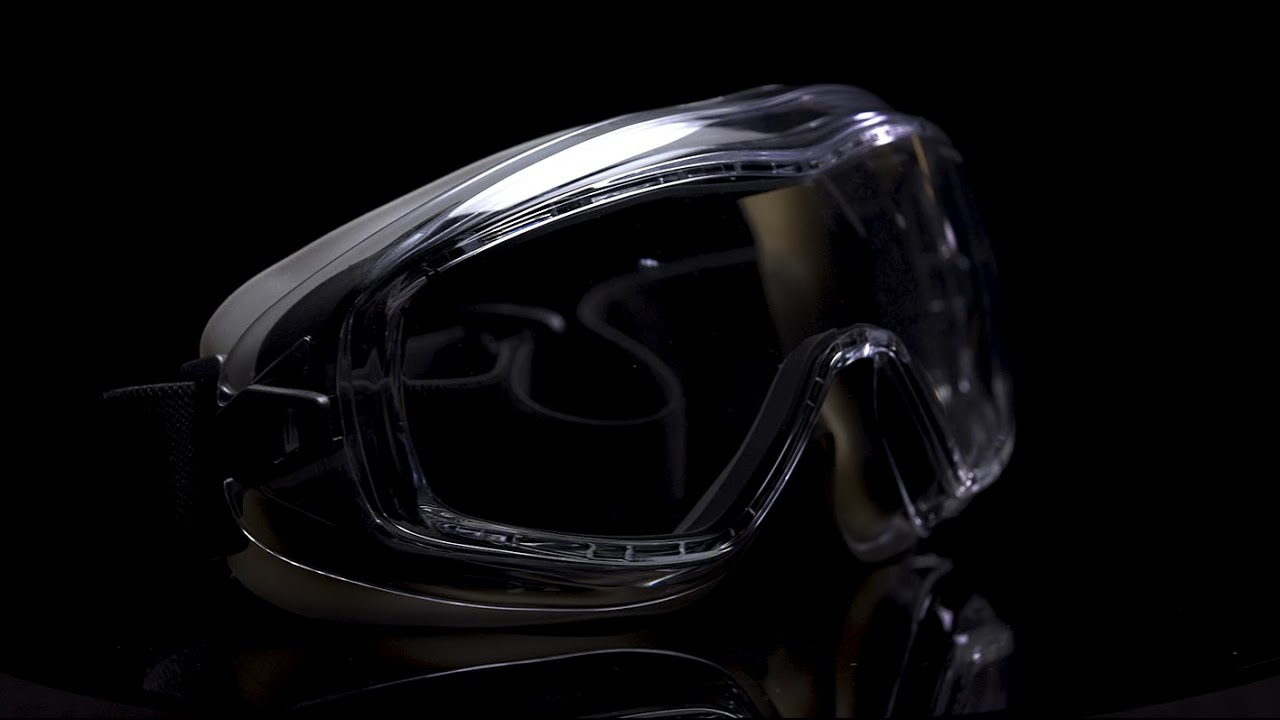 NoCry Safety Goggles with Vented Panoramic Lenses
