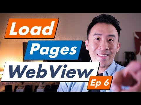 Android Kotlin YouTube: How To Load Web Pages With WebView (Ep 6)