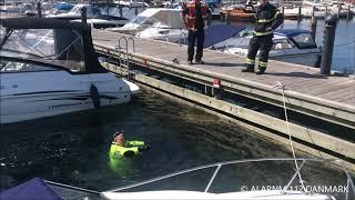 18.07.2019 - Indbrudstyv hoppe i vandet - Gentofte