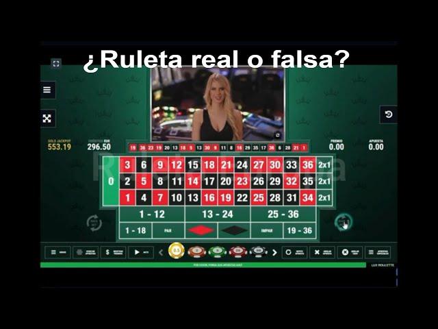 Cómo Ganar en la  Ruleta Virtual  🤖 ¿la ruleta es real o falsa?   LO COMPRUEBO!! 🦾 Ruleta Europea