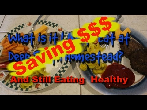 Saving $$$ and Still Eating Healthy - What Is It Like To Eat At DSH - Final