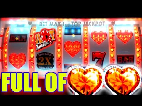 ❤ HEARTS FOR LOVE, ALL WE NEED IS LOVE & A JACKPOT! - MAX BET SLOT PLAY - 동영상