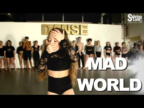 MAD WORLD - Contemporary Jazz | Sabrina Lonis class | Jasmine thompson