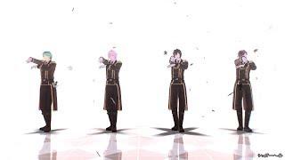 【MMD刀剣乱舞】シュガーヘイト【明石/一期/鶴丸/三日月(※軍服)】