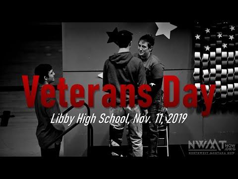 Libby High School Veterans Day observance 2019