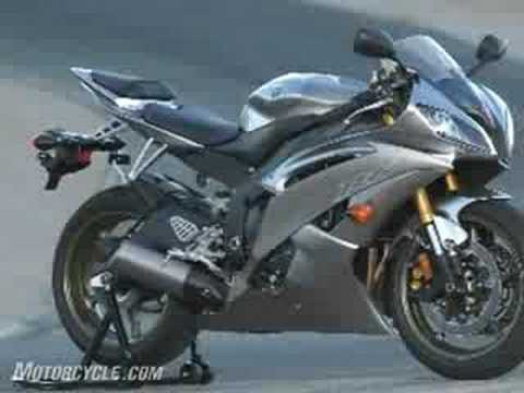 2008 Yamaha R6 Motorcycle Review - First Ride - Part 1 - YouTube