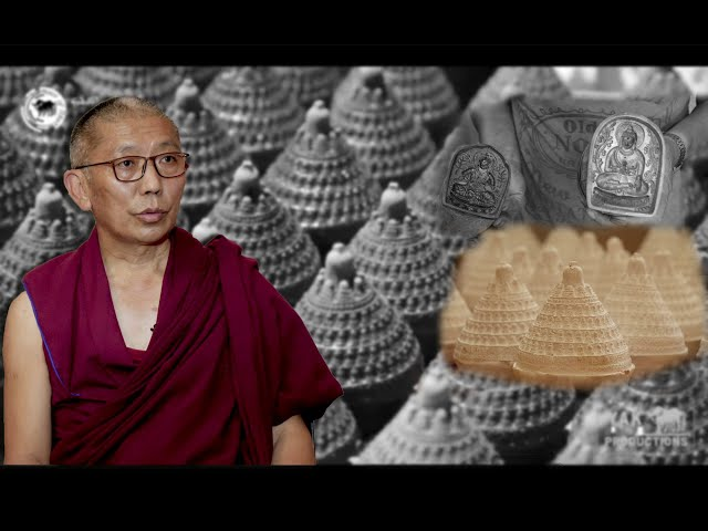 Art and Culture of Tibet : 'Tsatsa', Buddhist Stamped Clay Art
