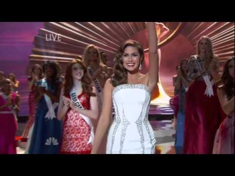 Miss Universe 2014 Gabriela Isler Final Walk As Miss Universe 2013