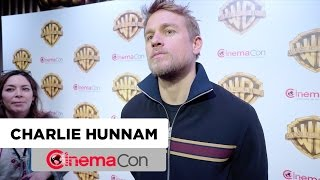 King Arthur: The Legend of the Sword | Charlie Hunnam Interview | CinemaCon 2017
