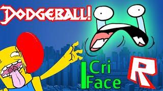 I Cri Face - ROBLOX Dodgeball Code