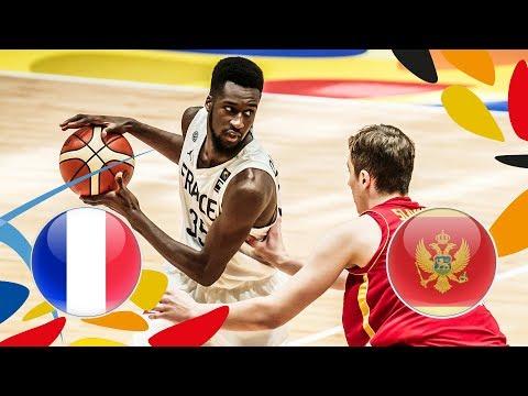 France v Montenegro - Full Game - Round of 16 - FIBA U20 European Championship 2018