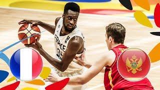 LIVE 🔴- France v Montenegro - Round of 16 - FIBA U20 European Championship 2018
