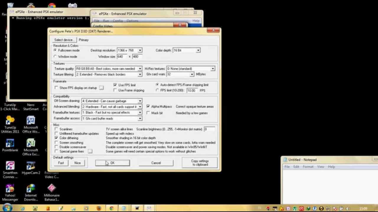 How To Configure Epsxe For Windows 7 (100% Working)