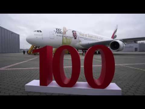 Emirates receives 100th Airbus A380 | Emirates Airline